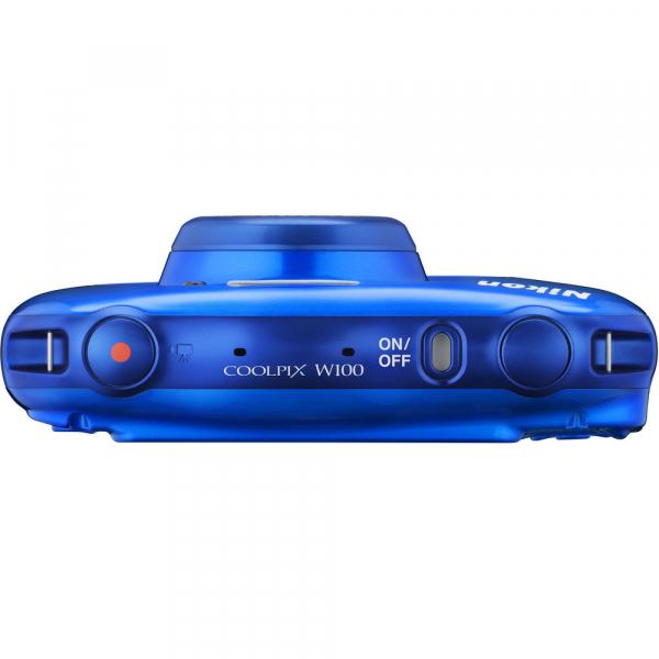 Nikon Coolpix W100 - subacvatic, filmare FHD Kit cu Rucsac -albastru 5