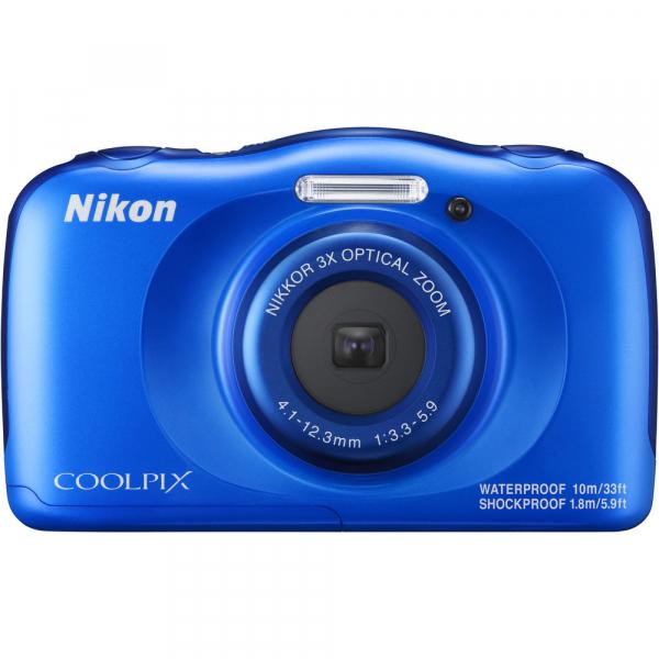 Nikon Coolpix W100 - subacvatic, filmare FHD Kit cu Rucsac -albastru 1