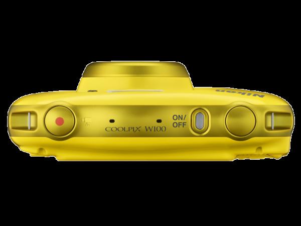 Nikon Coolpix W100 - subacvatic, filmare FHD Kit cu Rucsac -galben 5