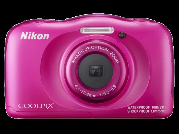 Nikon Coolpix W100 - subacvatic, filmare FHD Kit cu Rucsac -roz 1