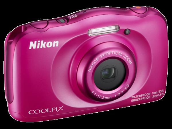 Nikon Coolpix W100 - subacvatic, filmare FHD Kit cu Rucsac -roz 3