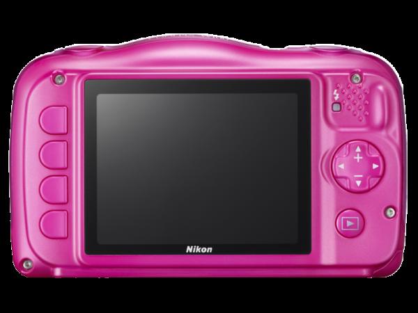 Nikon Coolpix W100 - subacvatic, filmare FHD Kit cu Rucsac -roz 4