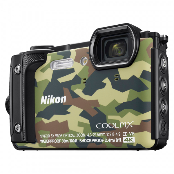 Nikon Coolpix W300 - subacvatic, filmare 4K - camuflaj 0