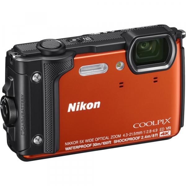 Nikon Coolpix W300 - subacvatic, filmare 4K - portocaliu 2