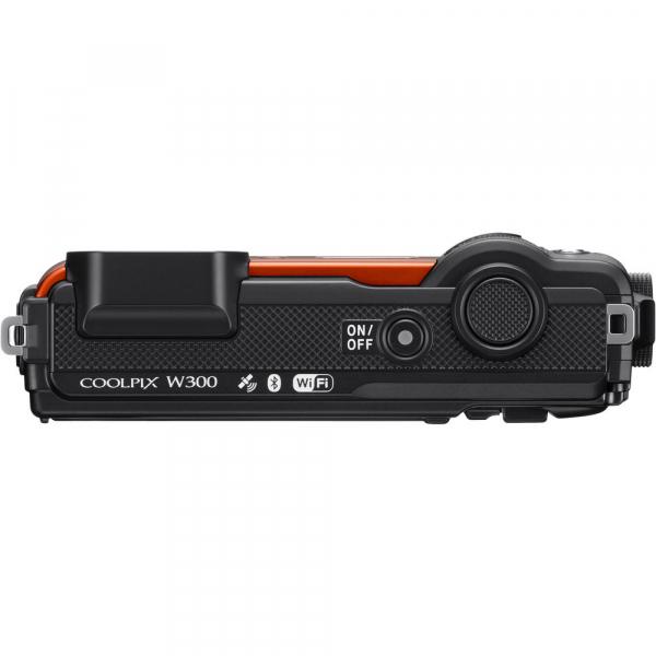 Nikon Coolpix W300 - subacvatic, filmare 4K - portocaliu 4