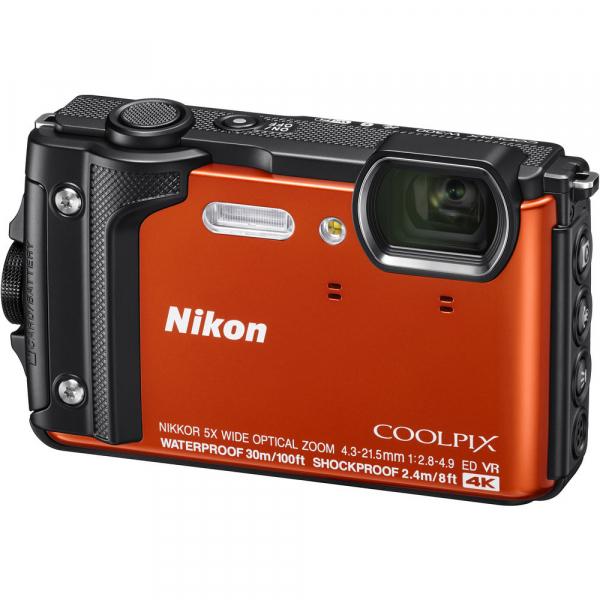 Nikon Coolpix W300 - subacvatic, filmare 4K - portocaliu 0