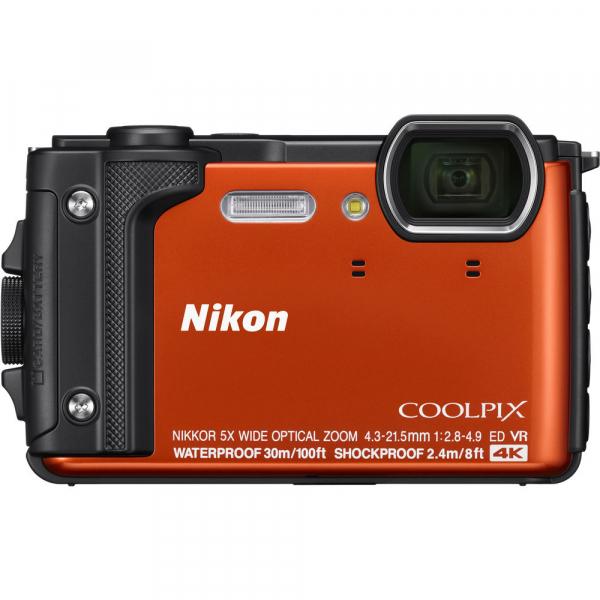 Nikon Coolpix W300 - subacvatic, filmare 4K - portocaliu 1