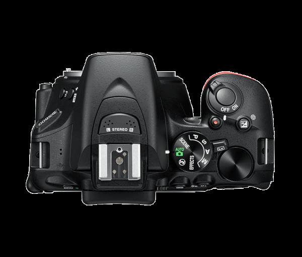 Nikon D5600 Kit AF-P 18-55mm VR, Negru 4