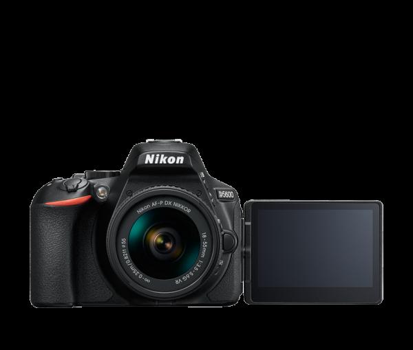 Nikon D5600 Kit AF-P 18-55mm VR, Negru 1