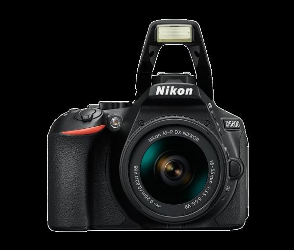 Nikon D5600 Kit AF-P 18-55mm VR, Negru 2