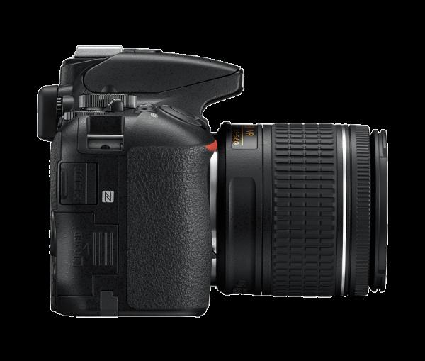 Nikon D5600 Kit AF-P 18-55mm VR, Negru 6