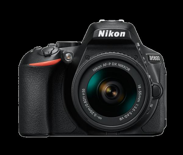 Nikon D5600 Kit AF-P 18-55mm VR, Negru 0