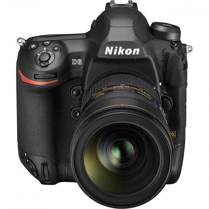 Nikon D6 Dual CFexpress  aparat foto DSLR 20.8Mpx FX 4K  , body 6
