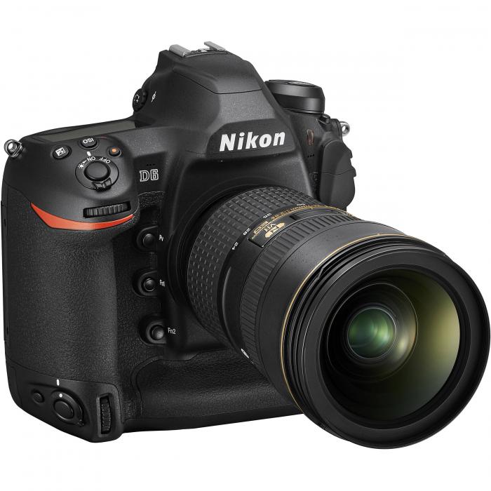 Nikon D6 Dual CFexpress  aparat foto DSLR 20.8Mpx FX 4K  , body 5