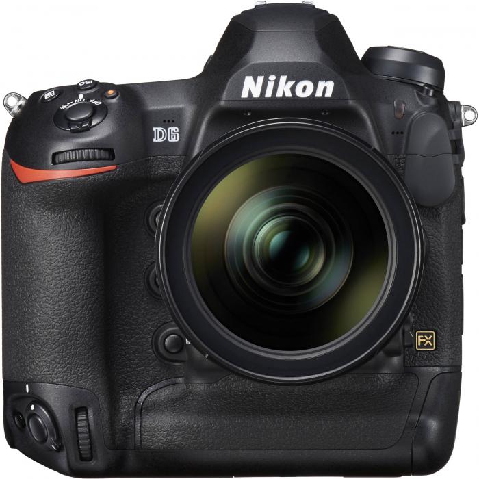 Nikon D6 Dual CFexpress  aparat foto DSLR 20.8Mpx FX 4K  , body 2