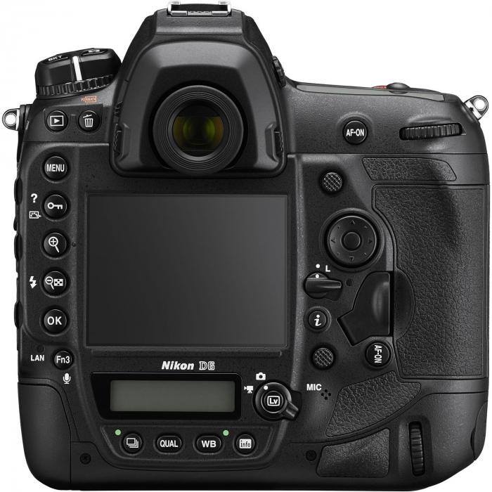 Nikon D6 Dual CFexpress  aparat foto DSLR 20.8Mpx FX 4K  , body 1
