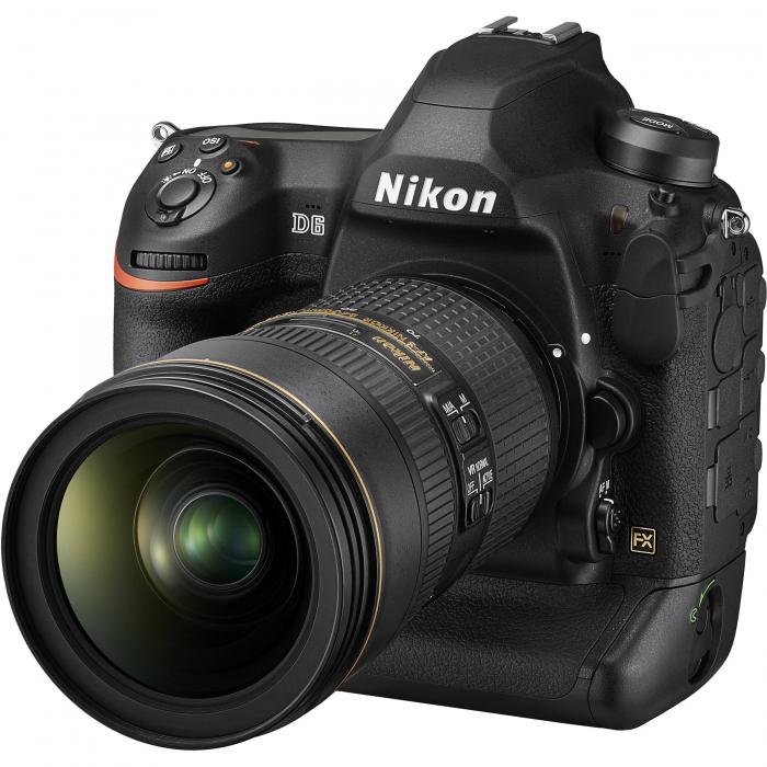 Nikon D6 Dual CFexpress  aparat foto DSLR 20.8Mpx FX 4K  , body 7