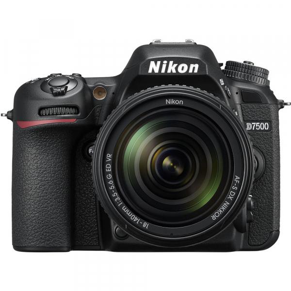 Nikon D7500 kit + Nikon 18-140mm VR 1