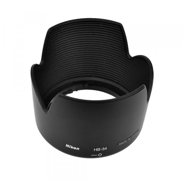 Nikon HB-34 - pentru Nikon AF-S DX Zoom-Nikkor 55-200mm f/4-5.6G ED (S.H.) 0