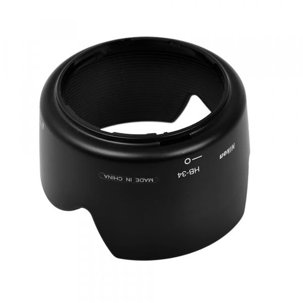 Nikon HB-34 - pentru Nikon AF-S DX Zoom-Nikkor 55-200mm f/4-5.6G ED (S.H.) 1