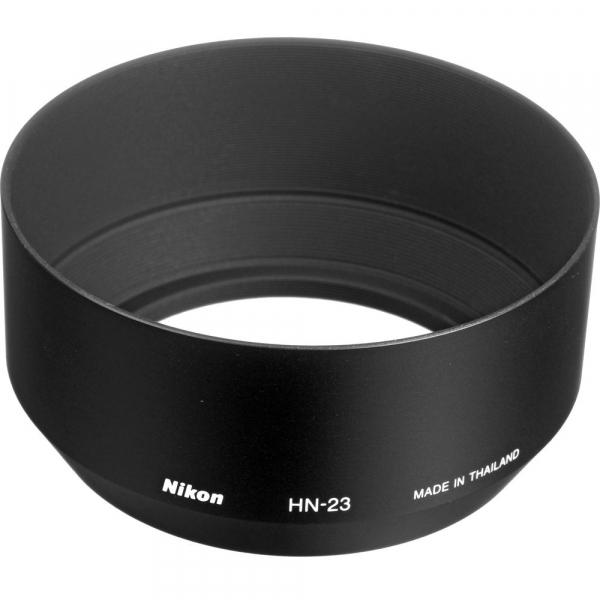 Nikon HN-23 parasolar pentru Nikon 85mm f/1.8 D AF, 80-200mm f/4 D AF 0