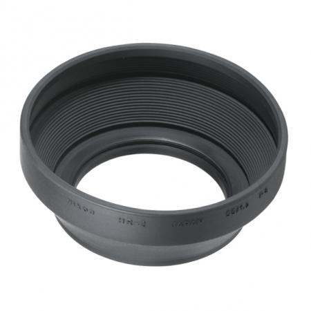 Nikon HR-2, parasolar cauciuc pentru Nikon 50 f/1.2 AI-S, 50 f/1.4, 1.8 D 0
