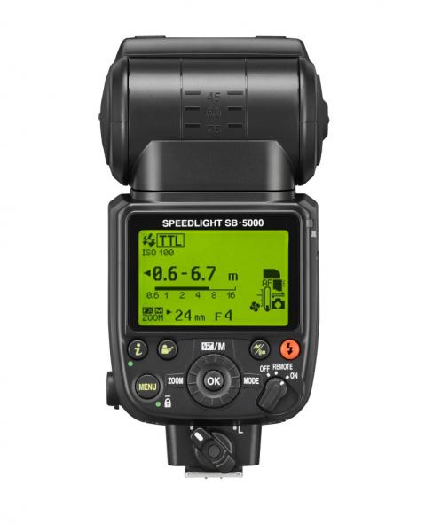 Nikon Speedlight SB-5000 AF i-TTL - blitz cu comanda radio 1