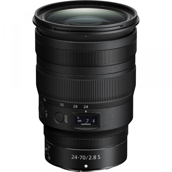 Nikon Z 24-70mm f / 2.8 S - obiectiv Mirrorless 0