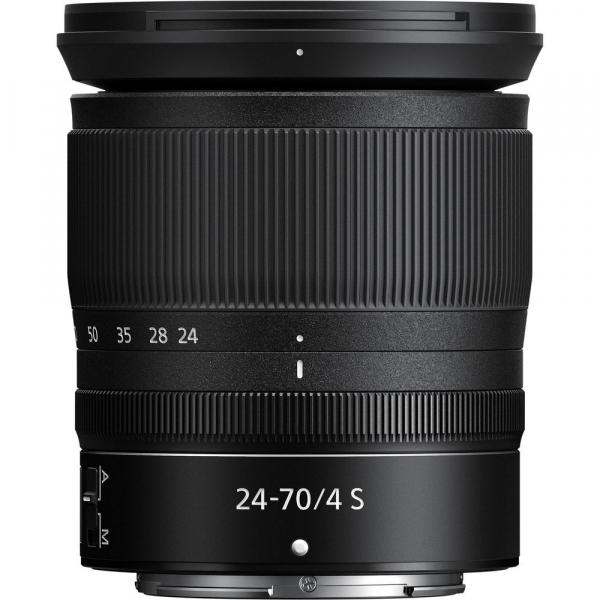 Nikon Z 24–70mm f/4 S , obiectiv Mirrorless 1
