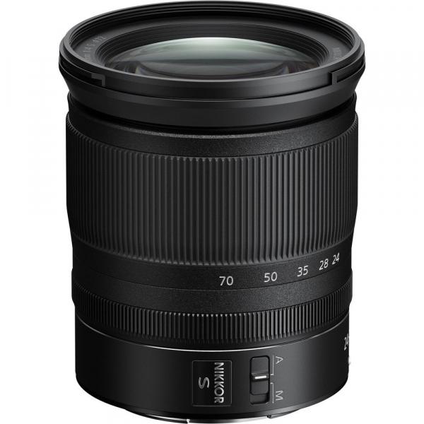 Nikon Z 24–70mm f/4 S , obiectiv Mirrorless  0