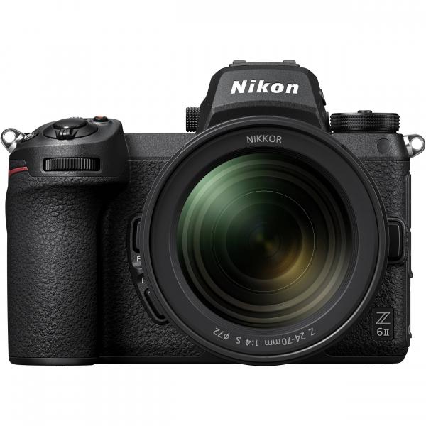 Nikon Z 6II  + Kit cu Adaptor FTZ si NIKKOR Z 24-70mm f/4 S - Nikon Z 6II Mirrorless Digital Camera - Nikon 2