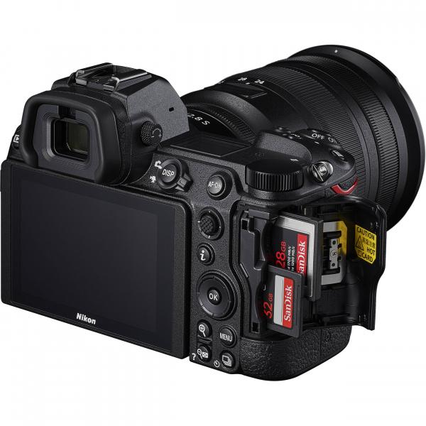 Nikon Z 6II  + Kit cu Adaptor FTZ si NIKKOR Z 24-70mm f/4 S - Nikon Z 6II Mirrorless Digital Camera - Nikon 7