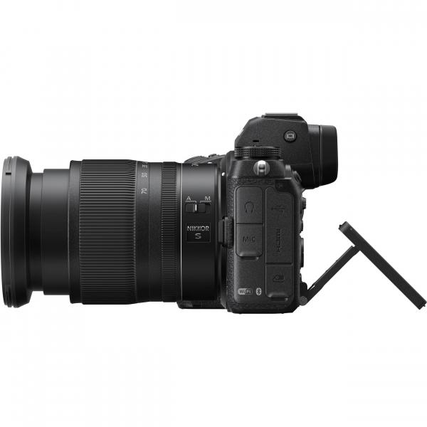 Nikon Z 6II  + Kit cu Adaptor FTZ si NIKKOR Z 24-70mm f/4 S - Nikon Z 6II Mirrorless Digital Camera - Nikon 6