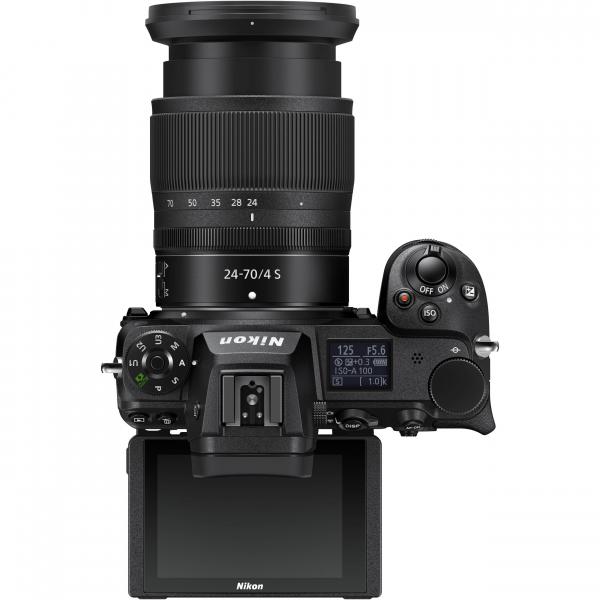 Nikon Z 6II  + Kit cu Adaptor FTZ si NIKKOR Z 24-70mm f/4 S - Nikon Z 6II Mirrorless Digital Camera - Nikon 5