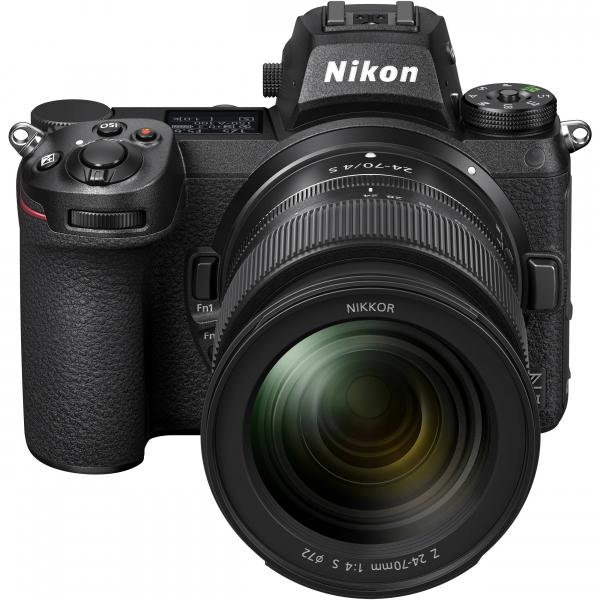 Nikon Z 6II  + Kit cu Adaptor FTZ si NIKKOR Z 24-70mm f/4 S - Nikon Z 6II Mirrorless Digital Camera - Nikon 3