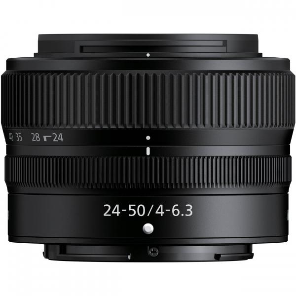Nikon Z5 Aparat Foto Mirrorless Full Frame 24.3Mpx, Video 4K, Wi-Fi - Kit cu NIKKOR Z 24-50mm f/4-6.3 si Adaptor FTZ 4