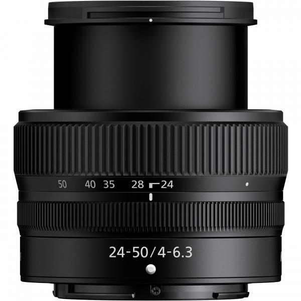 Nikon Z5 Aparat Foto Mirrorless Full Frame 24.3Mpx, Video 4K, Wi-Fi - Kit cu NIKKOR Z 24-50mm f/4-6.3 si Adaptor FTZ 5