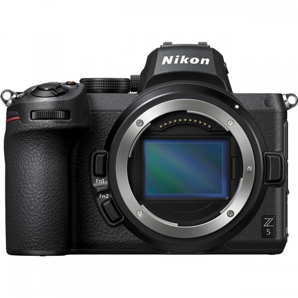 Nikon Z5 Aparat Foto Mirrorless Full Frame 24.3Mpx, Video 4K, Wi-Fi - Kit cu NIKKOR Z 24-50mm f/4-6.3 si Adaptor FTZ 2
