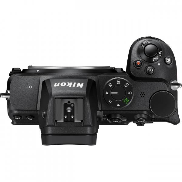 Nikon Z5 Aparat Foto Mirrorless Full Frame 24.3Mpx, Video 4K, Wi-Fi - Kit cu NIKKOR Z 24-50mm f/4-6.3 si Adaptor FTZ 7