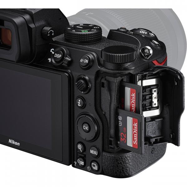 Nikon Z5 Aparat Foto Mirrorless Full Frame 24.3Mpx, Video 4K, Wi-Fi - Kit cu NIKKOR Z 24-50mm f/4-6.3 si Adaptor FTZ 8