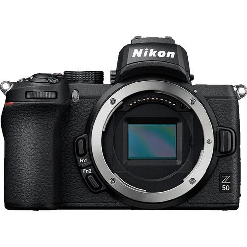 Nikon Z50 + 16-50mm f/3.5-6.3 VR + 50-250mm f/4.5-6.3 VR -  Aparat Foto Mirrorless 4K - Montura Z 7