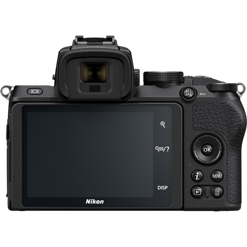 Nikon Z50 + 16-50mm f/3.5-6.3 VR + 50-250mm f/4.5-6.3 VR -  Aparat Foto Mirrorless 4K - Montura Z 8