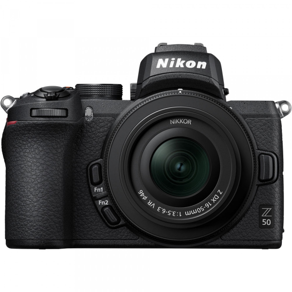 Nikon Z50 + 16-50mm f/3.5-6.3 VR -  Aparat Foto Mirrorless 4K - Montura Z 0