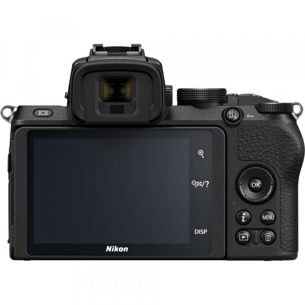 Nikon Z50 + 16-50mm f/3.5-6.3 VR -  Aparat Foto Mirrorless 4K - Montura Z 3