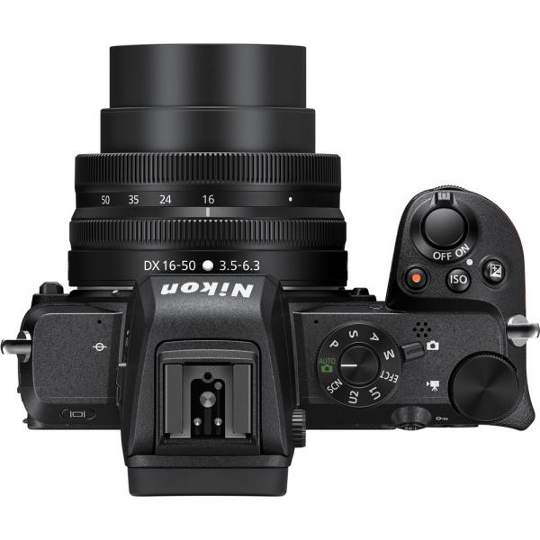 Nikon Z50 + 16-50mm f/3.5-6.3 VR -  Aparat Foto Mirrorless 4K - Montura Z 5
