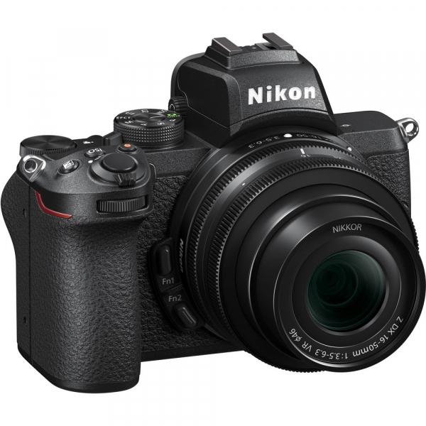 Nikon Z50 + 16-50mm f/3.5-6.3 VR -  Aparat Foto Mirrorless 4K - Montura Z 1
