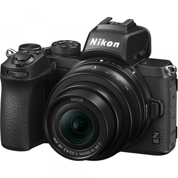 Nikon Z50 + 16-50mm f/3.5-6.3 VR -  Aparat Foto Mirrorless 4K - Montura Z 9