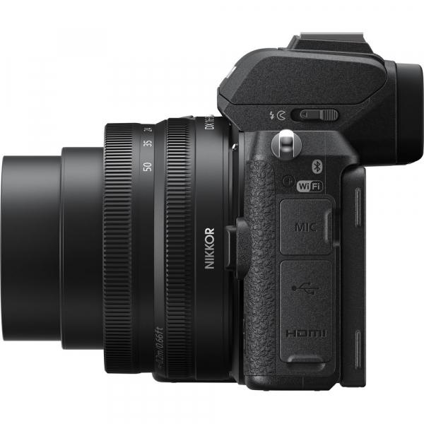 Nikon Z50 + 16-50mm f/3.5-6.3 VR -  Aparat Foto Mirrorless 4K - Montura Z 6