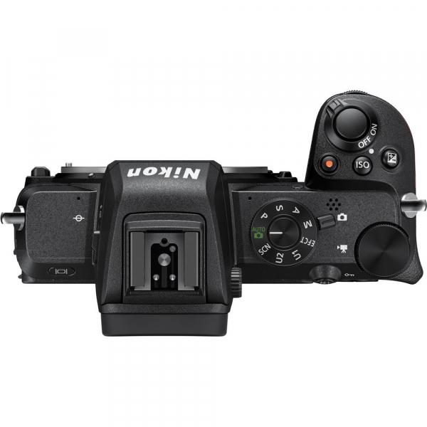 Nikon Z50 Body + adaptor Nikon FTZ,  Aparat Foto Mirrorless 4K - Montura Z 3
