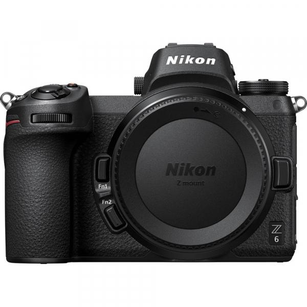 Nikon Z6 Body + adaptor Nikon FTZ,  Aparat Foto Mirrorless Full Frame 24.5MP Video 4K  Wi-Fi 1